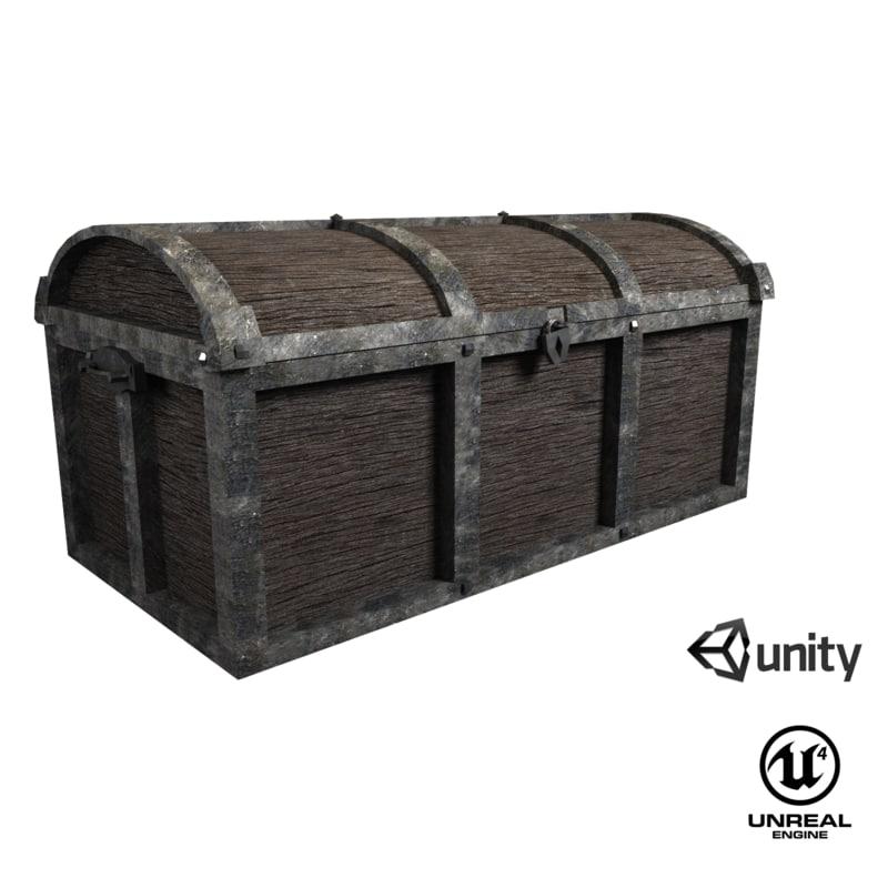 3D ue4 unity contains model