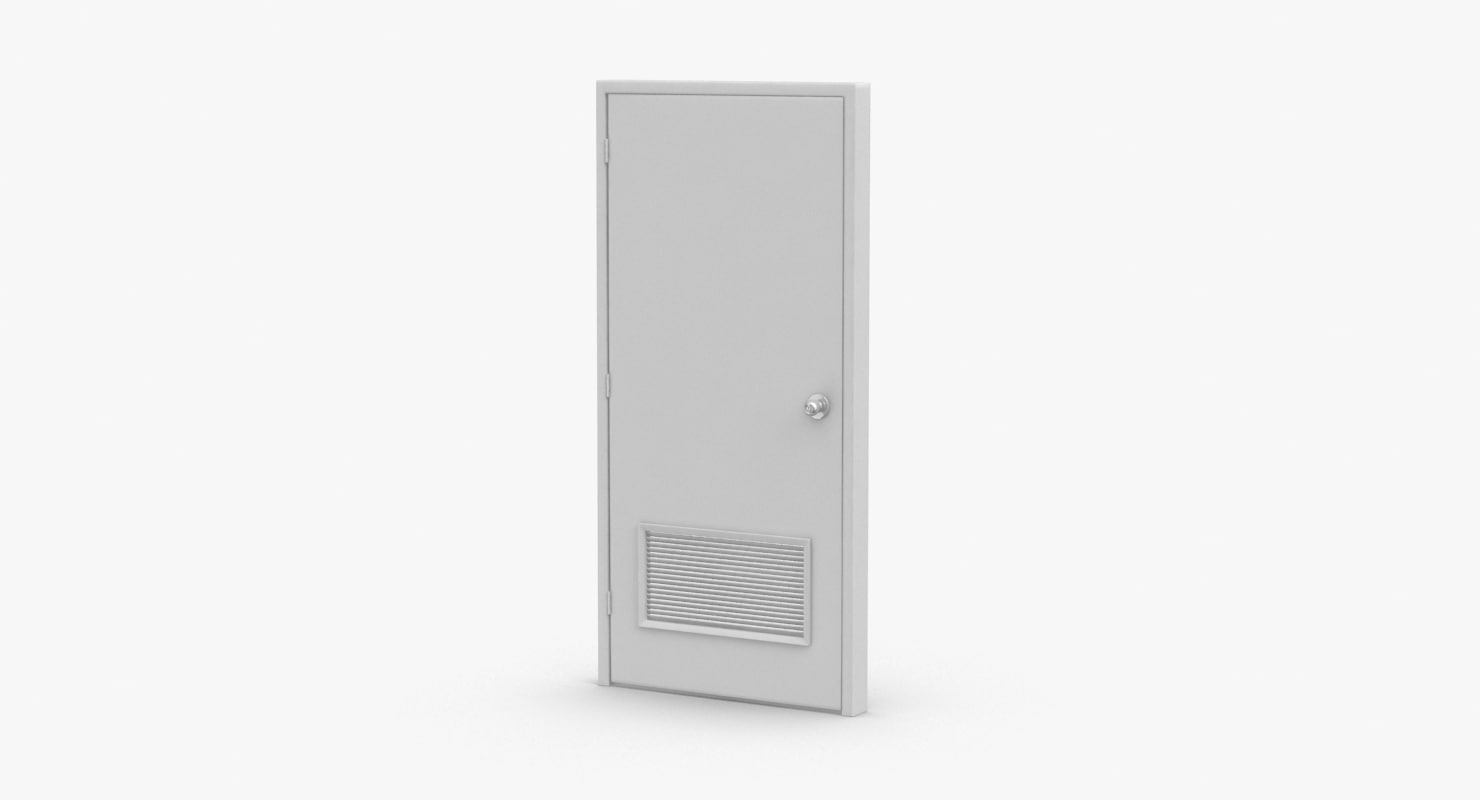3D commercial-doors---door-4-closed