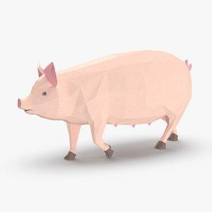 pig---running 3D