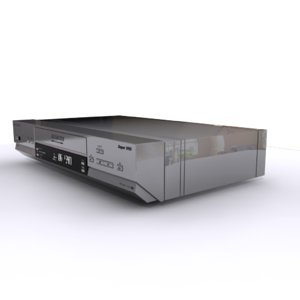 dvd driver 3D model