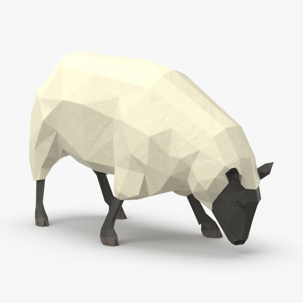 3D sheep---grazing model