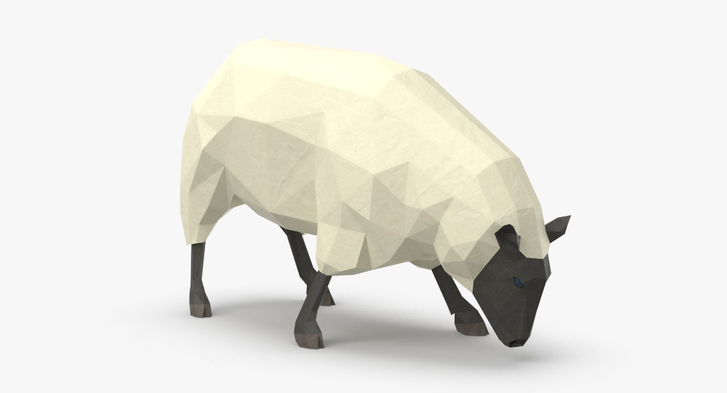 3D sheep---grazing model