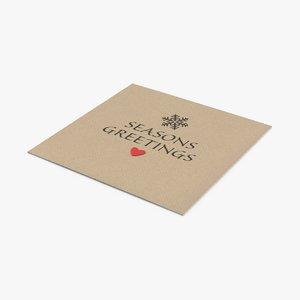 christmas-cards---v2-closed 3D model