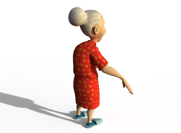 elderly woman model