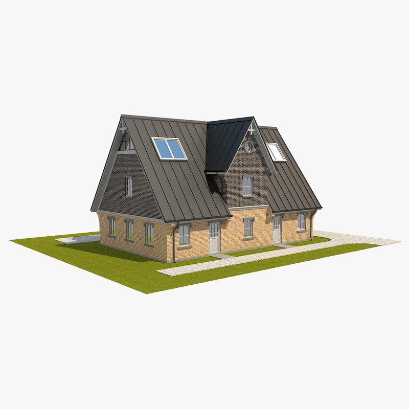 brick house 3D