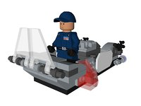 3D lego star wars order