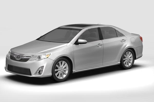 3D toyota car model