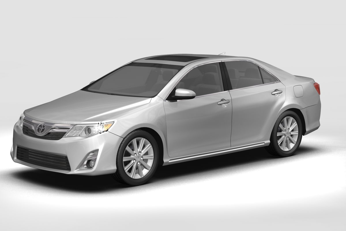 3D toyota car model