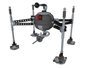 lego star wars homing 3D model