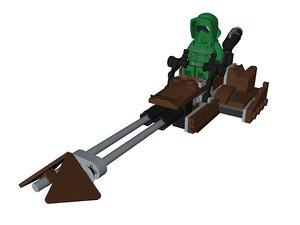 lego star wars 3D model