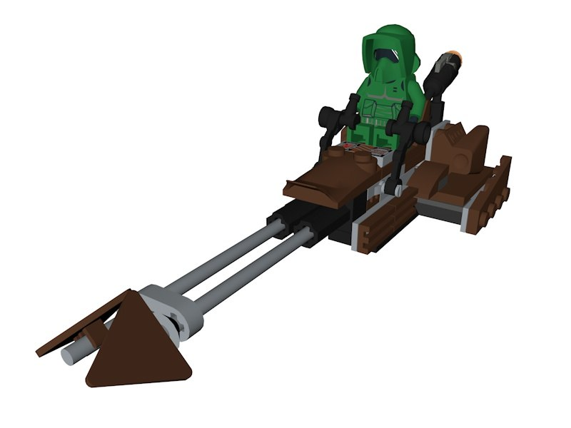 lego star wars 3D model