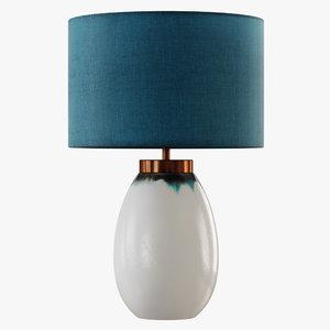 3D table lamp ilulisat model