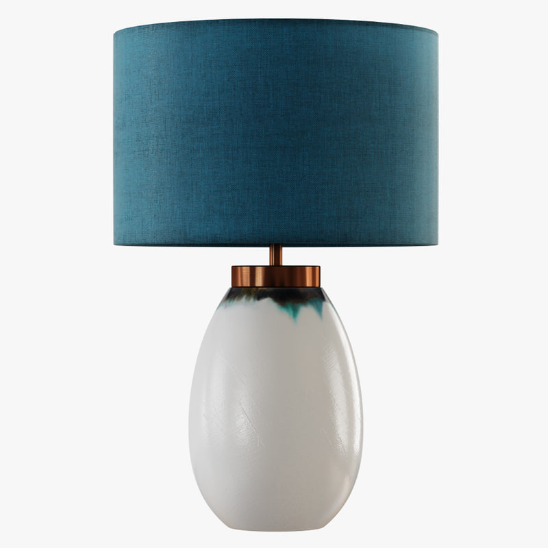 3D table lamp ilulisat model