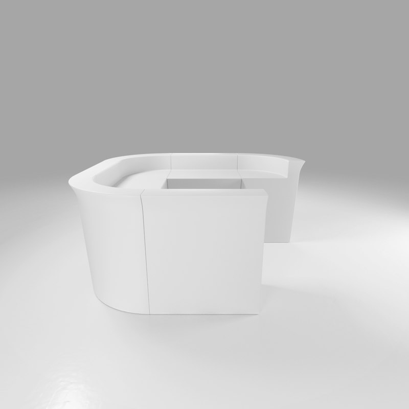 modular bar events 3D model