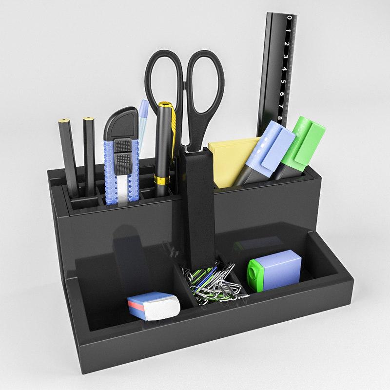 3D stationery set d