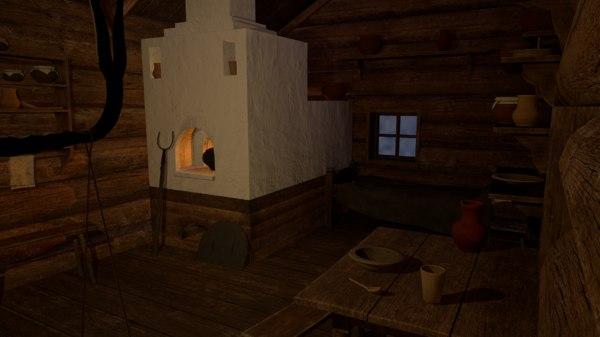 old furniture 3D