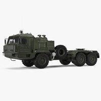 terrain tractor truck baz 3D model