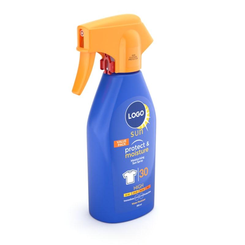 sun spray 3D model