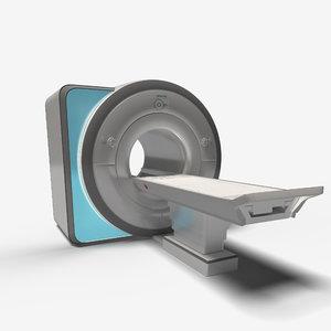 mri scanner medical 3D model
