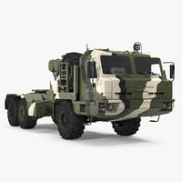 Military Truck BAZ 64022