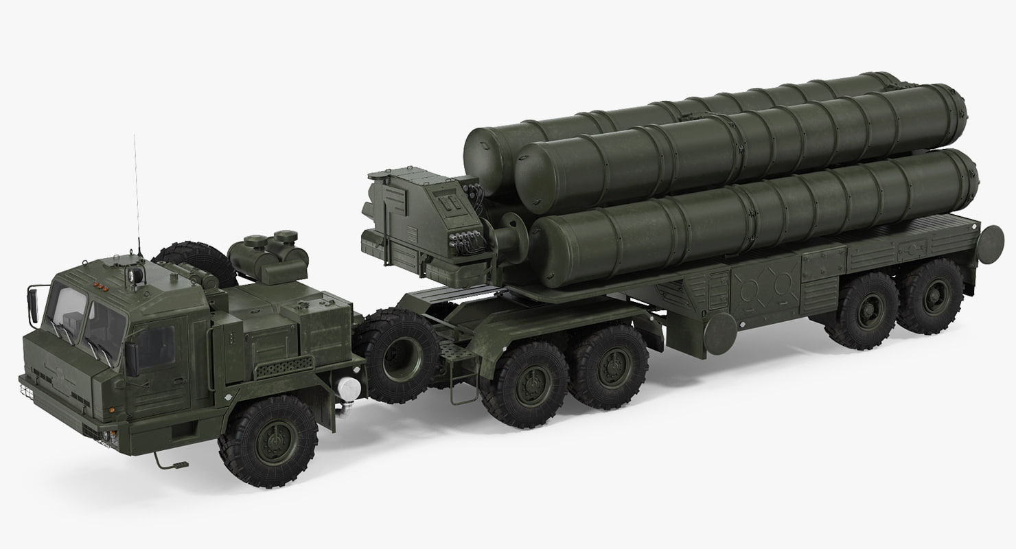 3D s-400 triumf launch vehicle