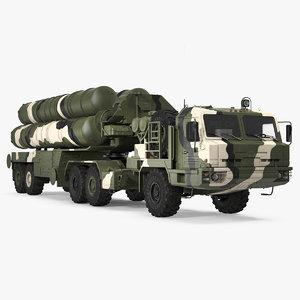 3D model sa-21 growler mobile missile