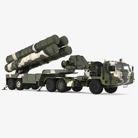 SA 21 Growler Mobile Missile System Vehicle Rigged