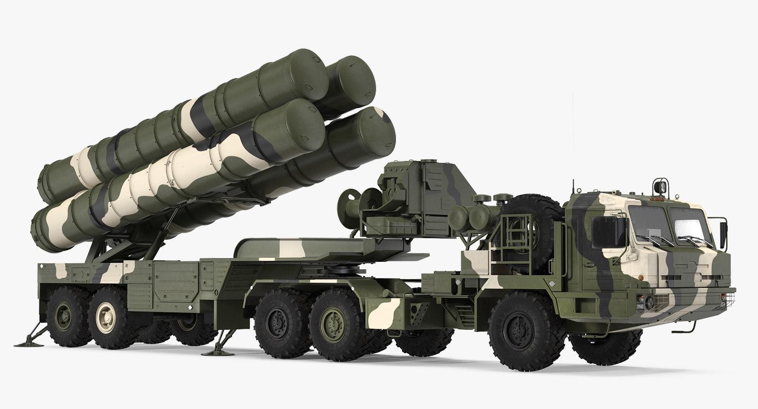sa-21 growler mobile missile 3D model
