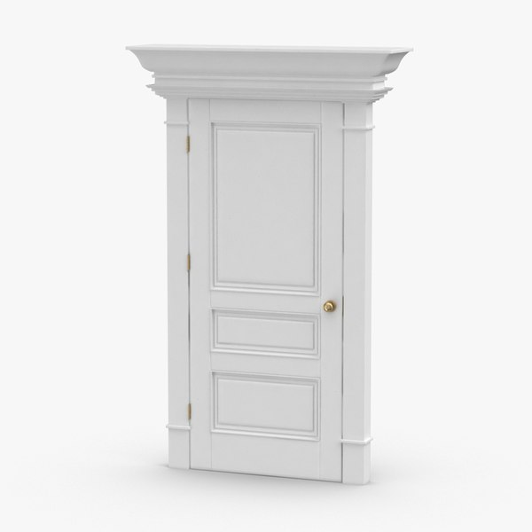 classic-doors---door-6-closed 3D model