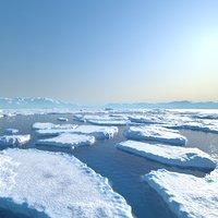 3D scene ice model