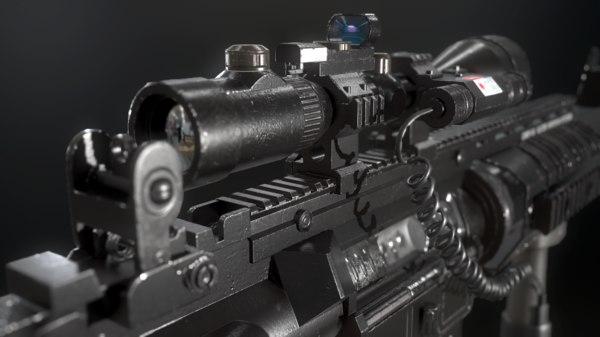 m4a1 carbine m4 3D model