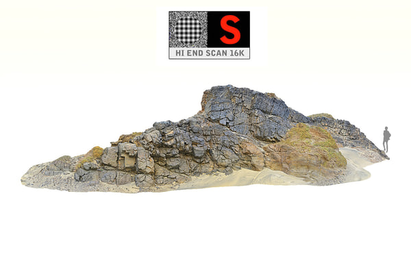 desert cliff hd 3D