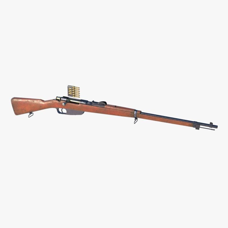 carcano m1891 model