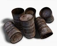barrels 02 3D model
