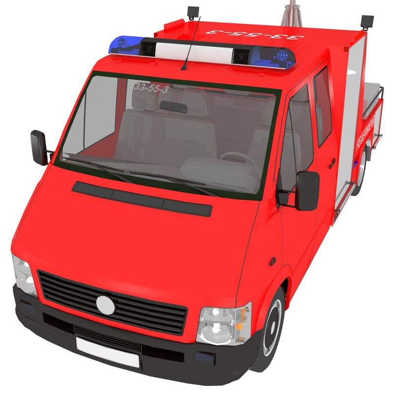 3D lighting truck