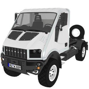 bremach 4x4 t-rex model
