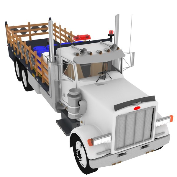 3D old truck