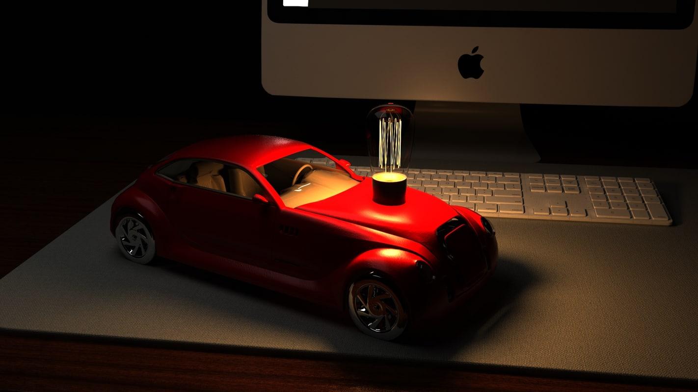 desk decoration 3D model