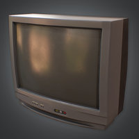 Television 01 Retro (80's) - PBR Game Ready