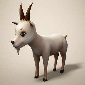 cartoon sheep 3D