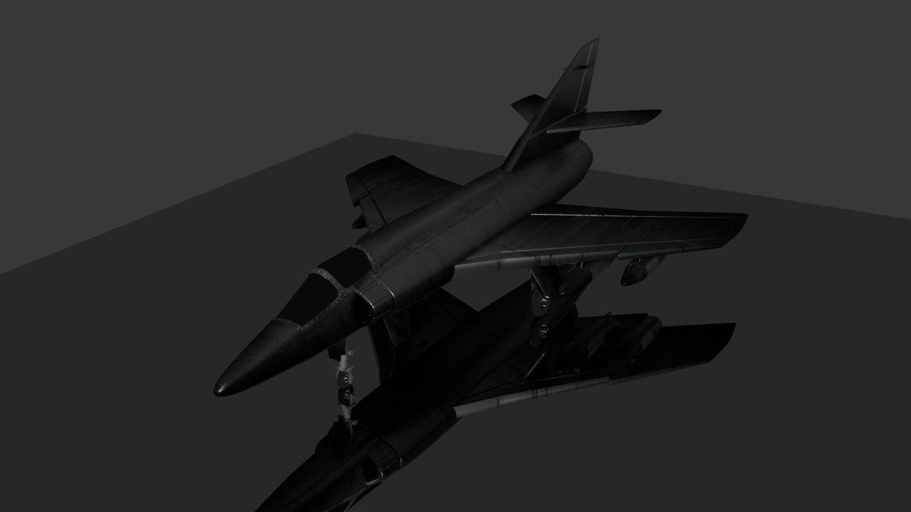 aeroplane vehicle 3D model
