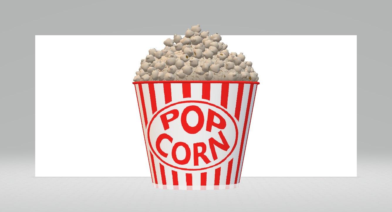 movie popcorn model