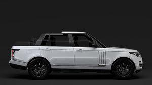 range rover svautobiography landaulet 3D model