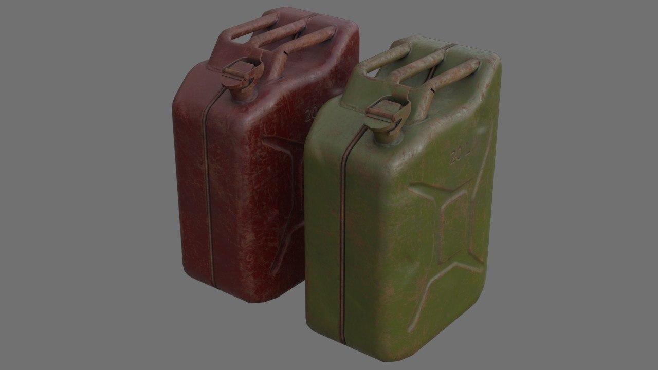 fuel contains 3c 3D