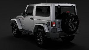 jeep wrangler smoky mountain 3D model