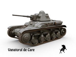 tanks vanatorul care 3D