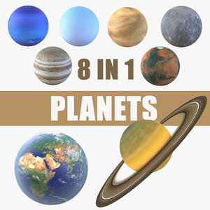 planets venus uranus model