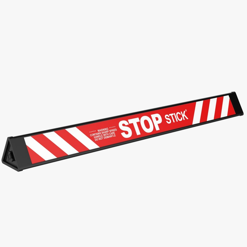 3D herse police stick