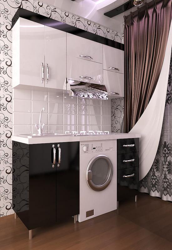 name: kitchen modern version: 3D model