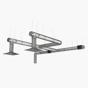 realistic ventilation vent model